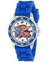 Disney Kids' CZ1010 Watch with Blue Rubber Band