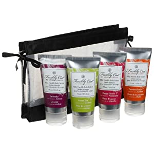 Upper Canada Soap & Candle  Silky Hand & Body Lotion Sampler Set