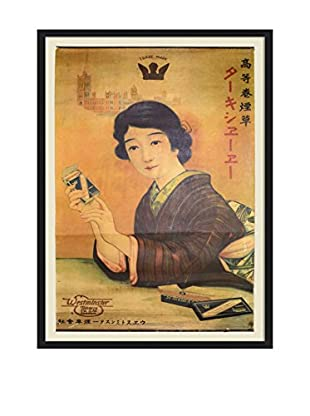 Chinese Vintage Westminster Tobacco Co. Smoking Poster, Multi
