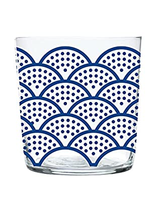 Enjoy Home Set Vaso 4 Uds. Magatama 37 cl Azul