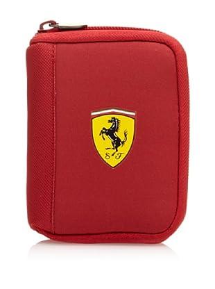 Ferrari Billetero Cartera (Rojo)