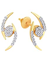 Asya Diamond Earring GEL291 from Gili