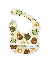 Bumkins Waterproof Starter Bib, Forest Friends (4-9 Months)
