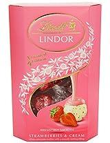 Lindt Lindor Strawberry & Cream 200 Grams