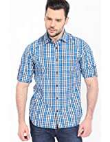 Checks Multi Color Casual Shirt