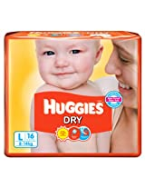 Huggies dry diapers L-16 (8-14kg)