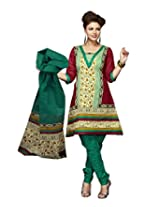 Karishma Suits Women Cotton Dress Material (Kpanelpg11 _Multi-Coloured)