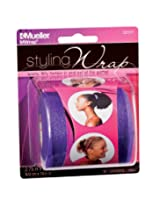 Mueller Mwrap Styling Wrap, Purple, 2.75 Inch x 21.4 Yard Roll