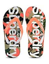 Camo Orange Flip Flops Superdry