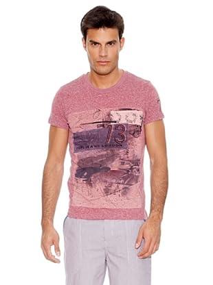Pepe Jeans London Camiseta Abingdon 2 (Burdeos)