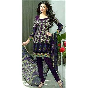 Dress materials - Designer printed synthetic dress material-AVG130684DM