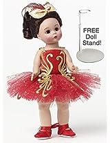 Madame Alexander Firebird Ballerina With Free Doll Stand