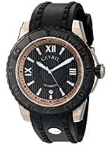 Gevril Men's 3115 Seacloud Analog Display Automatic Self Wind Black Watch