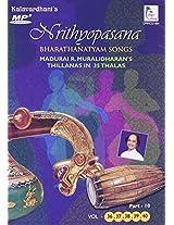 Nrithyopasana  Vol-36,37,38,39,40 - Part 10 Thillanas in 35 Thalas