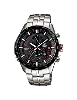 Casio Edifice Chronograph Black Dial Men's Watch - EQS-A500DB-1AVDR (EX088)