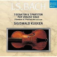 シギスヴァルト・クイケン 独奏 バッハ:無伴奏ヴァイオリンのためのソナタとパルティータのAmazonの商品頁を開く