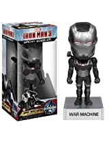 War Machine 6.5 Bobble Head Figure Iron Man 3 Wacky Wobbler Series