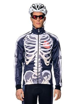 Jollywear Chaqueta Térmica Windtex Skeletor (blanco/gris)