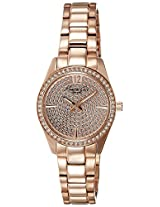 Kenneth Cole Classic Analog Gold Dial Women's Watch - IKC0005
