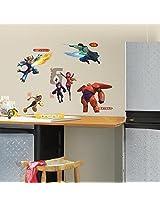 RoomMates Big Hero 6 Wall Decals (Multi Color)