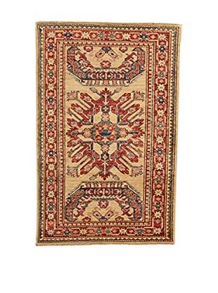 Design Community By Loomier Teppich Ozbeki Ghazni Extra beige/rot 84 x 129 cm