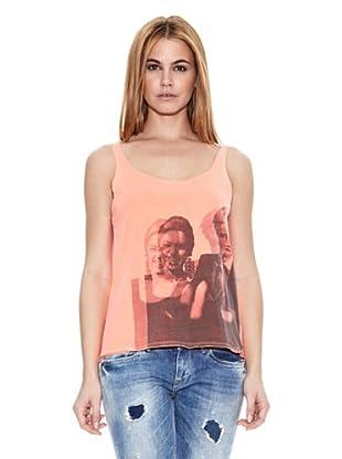 Pepe Jeans London Camiseta Clafin (Naranja Claro)