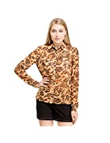 Oxolloxo Women's Abstract Shirt