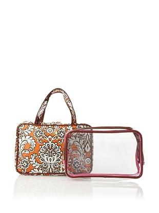 Trina Jacqueline 2-Piece Essential Weekender, Purple/Orange