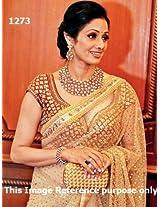 Sridevi in Sizzling Net Bollywood Replica Saree