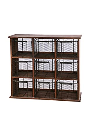 Winward Wire Fruit Cabinet, Natural