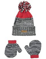 Carters Baby-Boys Cuffed Hat and Matching Mitten Set