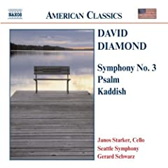 Symphony 3 / Psalm / Kaddish for Cello & Orchestra