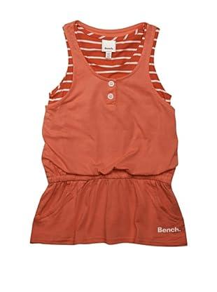Bench Mädchen Kleid Two Layer (georgia peach)