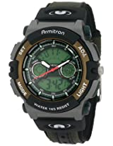 Armitron Men's Black Resin Digital Watch - 201437GRN