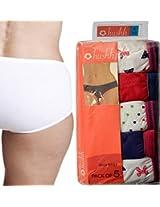 Seasons Hushh Pack Of 5 High Waist Panties B110B1103KV_Multi