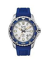 Bulova 98B208 Mens Marine Star - Satellite Blue Watch