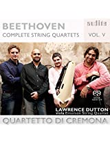 BEETHOVEN: COMPLETE STRING QUARTETS VOL.5
