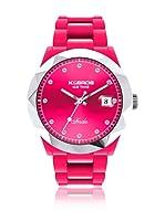 K&Bros  Reloj 9555 (Fucsia)
