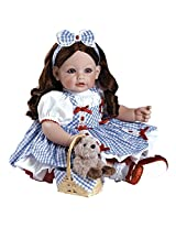 "Adora Toddler Wizard of Oz Dorothy 20"" Girl Weighted Doll Gift Set For Children 6+ Huggable Vinyl Cuddly Snuggle Soft Body Toy"