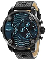 Diesel Mens DZ7334 Little Daddy Analog Display Analog Quartz Black Watch
