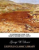 Handbook for the ship's medicine chest