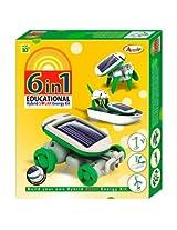 Do It Yourself 6 In 1 Educational Hybrid Solar Energy Kit