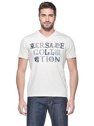 Versace Collection Camiseta Gaulterio (Crema)