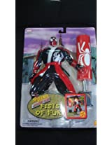 """Toy Biz Thunder Strike Spider-Man Fists of Fury 10"""" Fully Poseable Action Figure"""