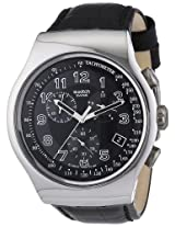 Swatch Analog Black Dial Men's Watch - YOS440