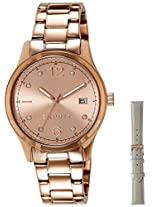Esprit Analog (Rose Gold) Dial Women's Watch - ES106692006