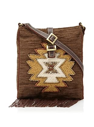 Mare Sole Amore Women's Tribal Cross-Body (Brown)