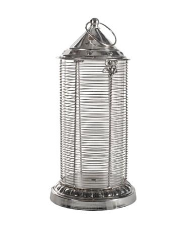 A&B Home Silver Nautical Lantern