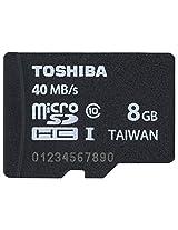 Toshiba 8GB Micro SDHC Class 10 40MB/s (PFM008U-2DCK)