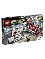 Lego 919 Porsche Hybrid and 917K Pit Lane, Multi Color